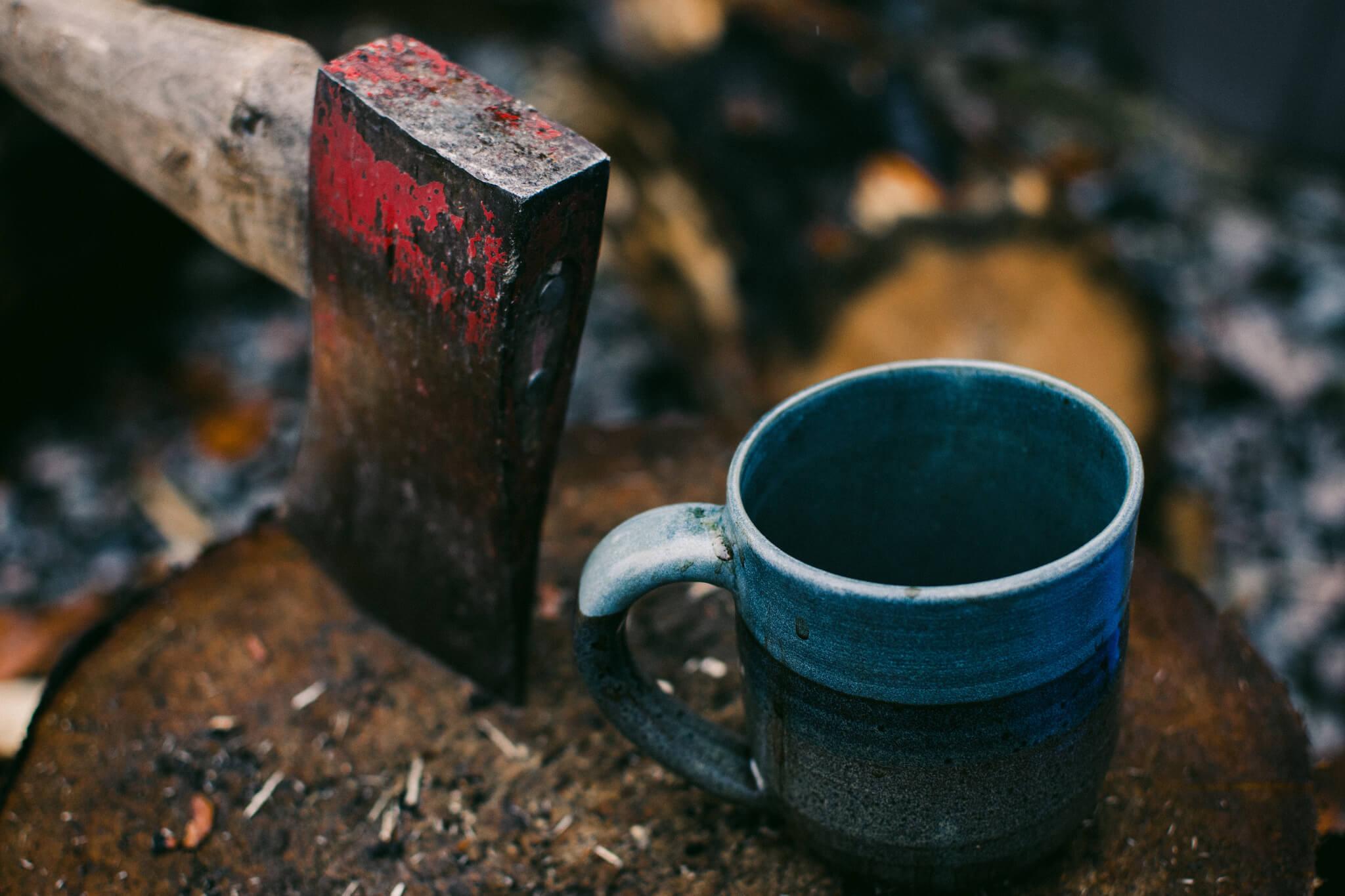 alternative café en camping